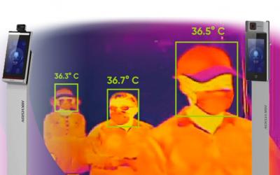 New COVID Screening Thermal Cameras